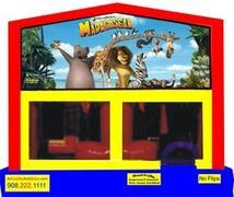 Themed Madagascar Animals 6in1 Combo WITH SECRET TUNNEL