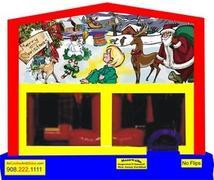 Themed Christmas 6in1 Inflatable Combo WITH SECRET TUNNEL