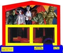 Themed Monsters Classic Movies 6in1 Combo WITH SECRET TUNNEL