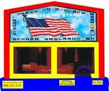 Themed United We Stand America 6in1 Combo WITH SECRET TUNNEL