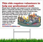 RentalSafety.com on line training and skills for volunteers helping supervise at your event. There is no maximum number of volunteers who may do the online training for your event.
