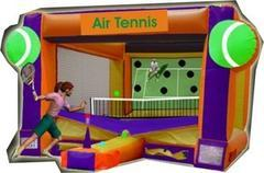 Air Tennis with tennis racket, light balls and blower