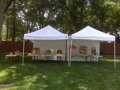 A275 Carnival Game Package Backyard (6 games, tables, 2 canopy tents, your volunteers NO staff) Normal price $275.00