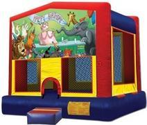 Themed Happy Bday Animals 5 M Jump15x15