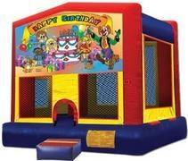 Themed Happy Bday Clown9 Jump15x15