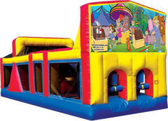 Themed Carnival Party Obstacle Course 33