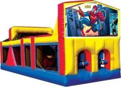 Themed Spider Man Obstacle Course 33