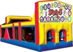 Themed Sports Kids Play M/L Obstacle Course 33