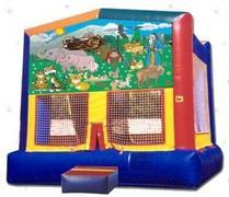 Themed Noahs Animals Jump15x15