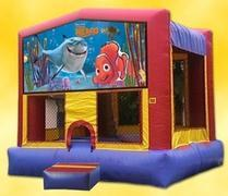 Themed Disney Finding Nemo Jump15x15