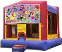 Themed Lets Party Jump13x13