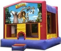Themed Madagascar animals Jump15x15
