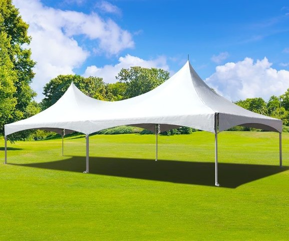 60 x 20 Ft High Peak Party Tent