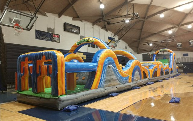 100 Ft Marble Radical Run Obstacle Course