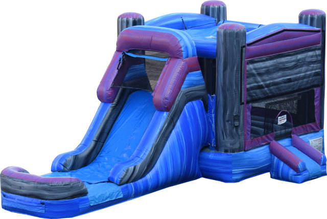 Marble Combo II Bounce House and Slide (Wet Or Dry)