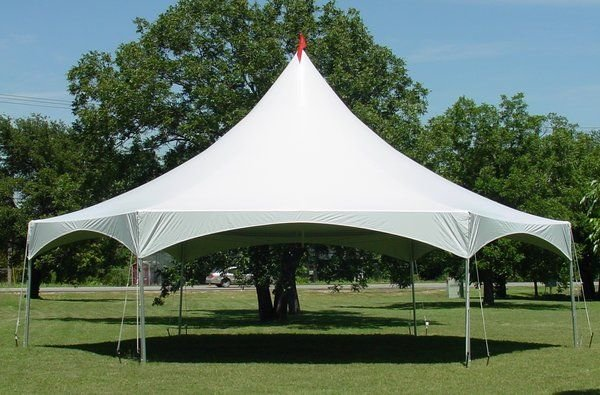 40 x 40 Ft Hexagonal High Peak Party Tent