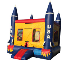 Rocket Bounce House Rental
