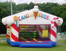 Candy House Bounce House