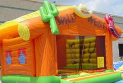 Wild West Bounce House