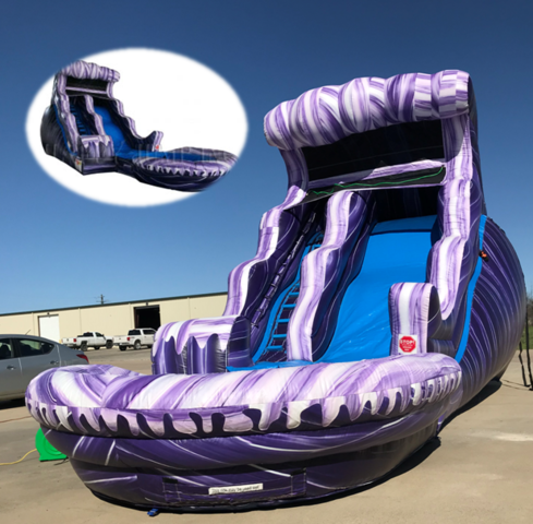 Purple Tantrum Water Slide