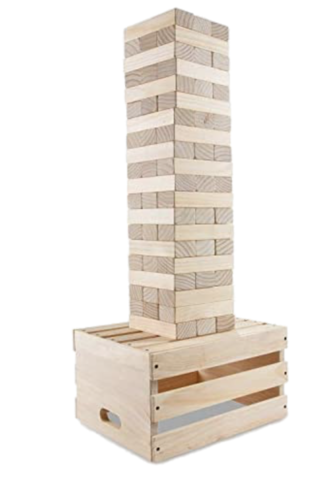 Giant Jenga Tower Game