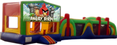 Angry Birds- 53ft Obstacle Bouncer Combo