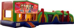 Bratz- 53' Obstacle Bouncer Combo