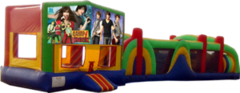 Camp Rock- 53' Obstacle Bouncer Combo