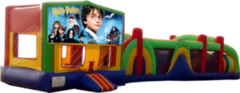 Harry Potter- 53' Obstacle Bouncer Combo