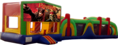 Pirates of The Carribean- 53' Obstacle Bouncer Combo
