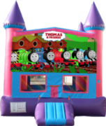 Thomas and Friends- 15x15 Pink