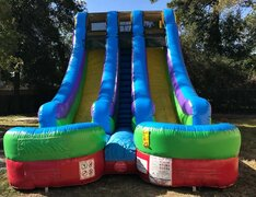 Dual Lane 18ft Wet Slide