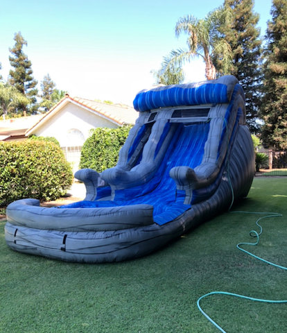 15ft Marble Wave Water Slide