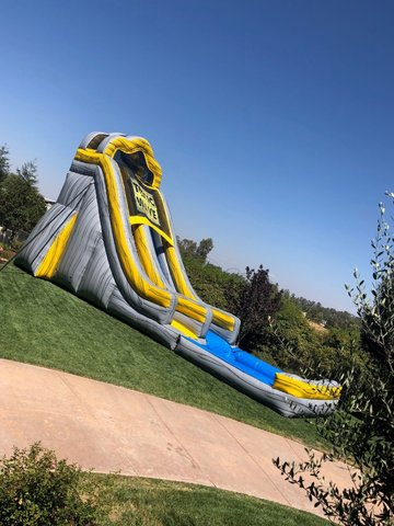 22ft Giant Toxic Wave Water Slide
