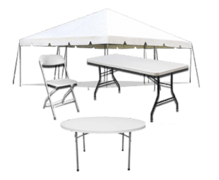 Tables, Chairs, & Tents