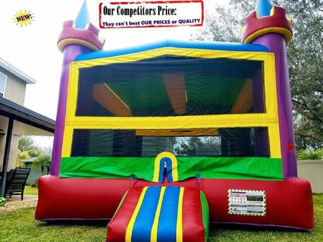 Camelot (Bounce House & Basketball Hoop Combo)