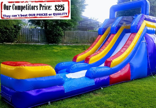 M SLIDE (16ft X 30ft Single Lane Water Slide)