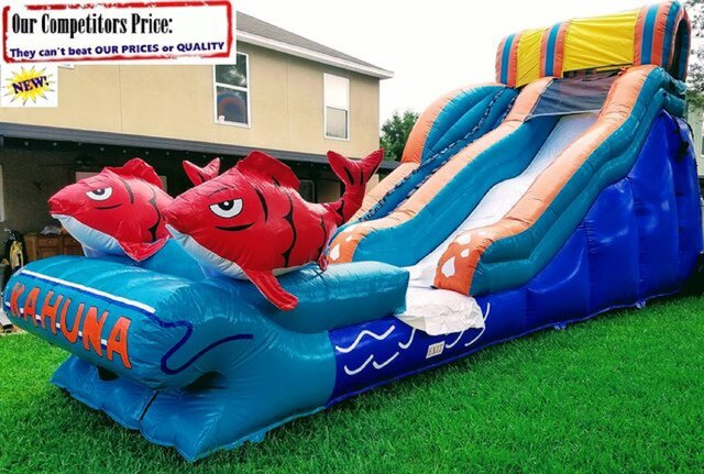 BIG KAHUNA (20ft X 40ft GIANT Water Slide)