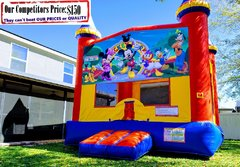Clubhouse Theme Bounce House
