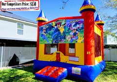 Pokemon Theme Bounce House