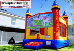 Unicorn Theme Bounce House