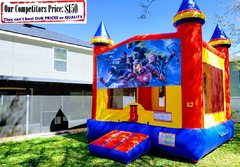 Marvel Avenger Theme Bounce House