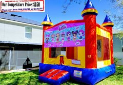 LOL Surprise Theme Bounce House