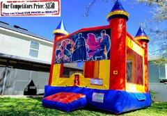 DC Super Hero Theme Bounce House