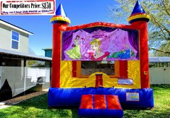 Princess Palace Theme Bounce House