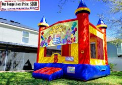 Happy Birthday Theme Bounce House