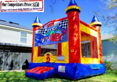 Speed Zone Theme Bounce House