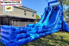 ATOMIC DROP Royal (24ft X 45ft GIANT Water Slide)
