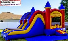 Spartan (Bounce House & Dual Slide Combo)