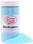 Blue raspberry cotton candy flavor